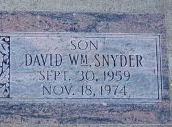 David William Snyder