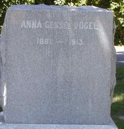 Annie <I>Gessel</I> Vogel