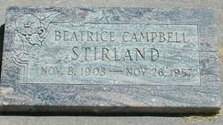 Beatrice <I>Campbell</I> Stirland