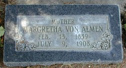 Margaretha <I>Glaus</I> Von Almen