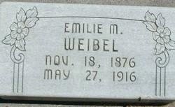 Emilie <I>Meyer</I> Weibel
