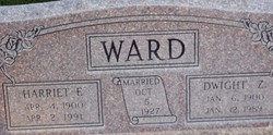 Harriett <I>Earl</I> Ward
