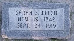 Sarah <I>Shepard</I> Welch