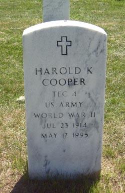 Harold K Cooper