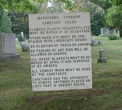 Watertown Township Cemetery