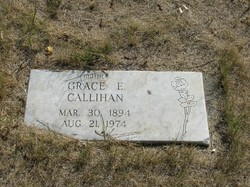 Grace Evelyn <I>Decker</I> Callihan