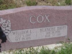 Blanche Olga <I>Davis</I> Cox