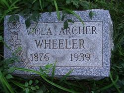 Viola <I>Archer</I> Wheeler