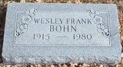 Wesley Frank Bohn