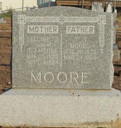 "Angeline Elizabeth ""Lizzie"" <I>Peach</I> Moore"