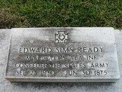 Maj Edward Sims Ready
