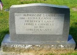 Alphonsine Sophronie <I>Savageau</I> Gadue