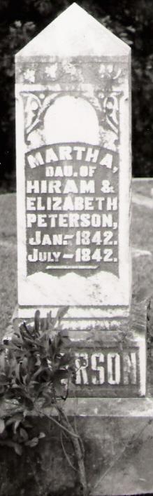 Martha A Peterson