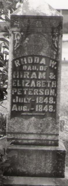 Rhoda W Peterson