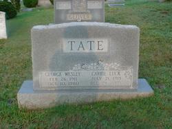 Carrie Virginia <I>Luck</I> Tate