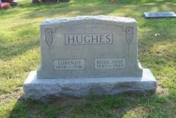 "Rosa Jane ""Rosie"" <I>Daniel</I> Hughes"
