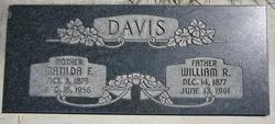 Lydia Matilda <I>Fausett</I> Davis