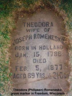 Theodora <I>Philipsen</I> Romenesko