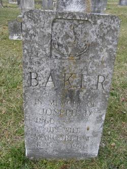 Joseph D Baker