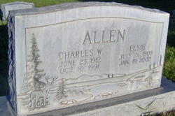 Elsie <I>Fowler</I> Allen