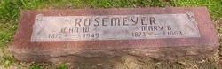 Mary B. <I>DeWald</I> Rosemeyer