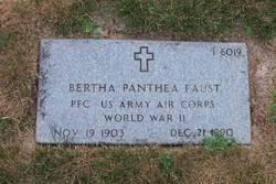 Bertha Panthea Faust