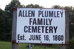 Allen Plumley Family Cemetery
