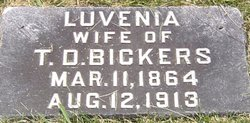 Luvenia <I>Stafford</I> Bickers