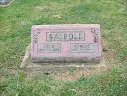 Ida <I>Evans</I> Walpole