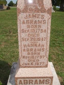 Hannah <I>Hartpence</I> Abrams