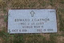 Edward J Gaynor