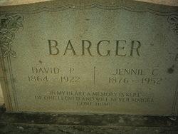 Jennie Catherine <I>Hawn</I> Barger