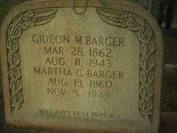 Martha G. <I>Smyre</I> Barger