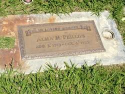 Alma Minnie <I>Noland</I> Phillips