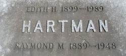 Edith H <I>Puterbaugh</I> Hartman