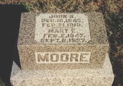Mary E. <I>Rutledge</I> Moore