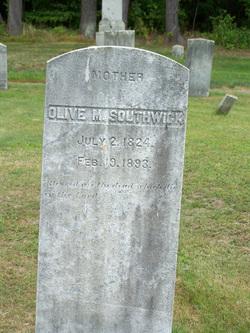 Olive M <I>Kellogg</I> Southwick