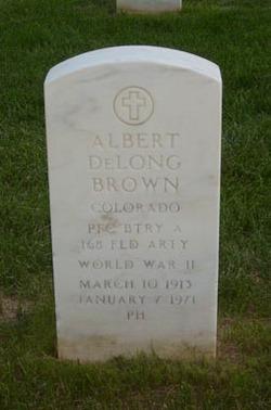 Albert DeLong Brown