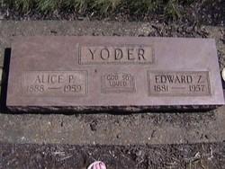 Edward Z. Yoder