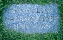 Martha Leigh <I>Hamilton</I> Anderson