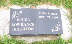 Wilda May <I>Lowrance</I> Brighton