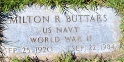 Milton Rugder Buttars