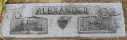 J T Alexander, Sr