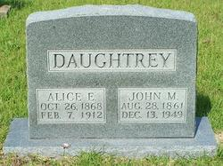 Alice Elizabeth <I>Mercer</I> Daughtrey