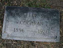 Charleene Grace <I>Shaw</I> Cochran