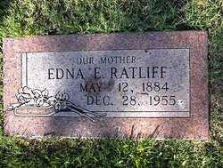Edna Ester <I>Jones</I> Ratliff
