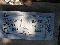 Martha J Briery