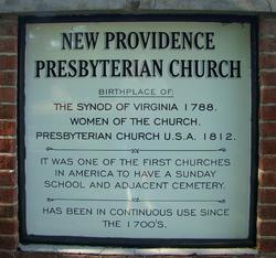 New Providence Presbyterian Church Cemetery
