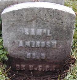 Pvt Samuel Ambrose