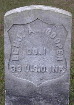 Pvt Benjamin A. Cooper